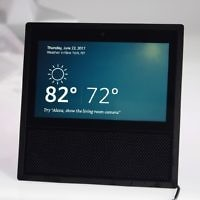 Amazon's Echo Show lets users tap the screen to access Alexa
